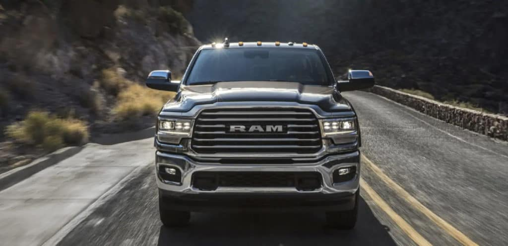 2019 ram 2500 front view