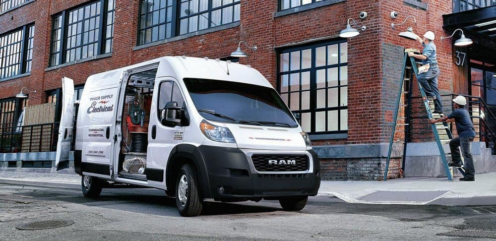 2019 RAM ProMaster at work site