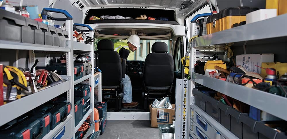 2019 RAM ProMaster interior view