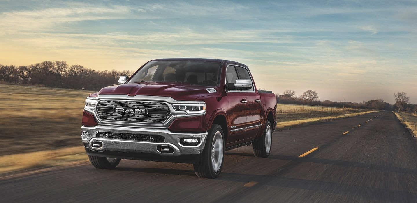 2020 RAM 1500 aerodynamic features
