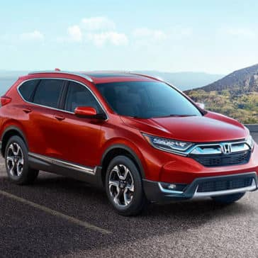 2018 Honda CR-V Parked