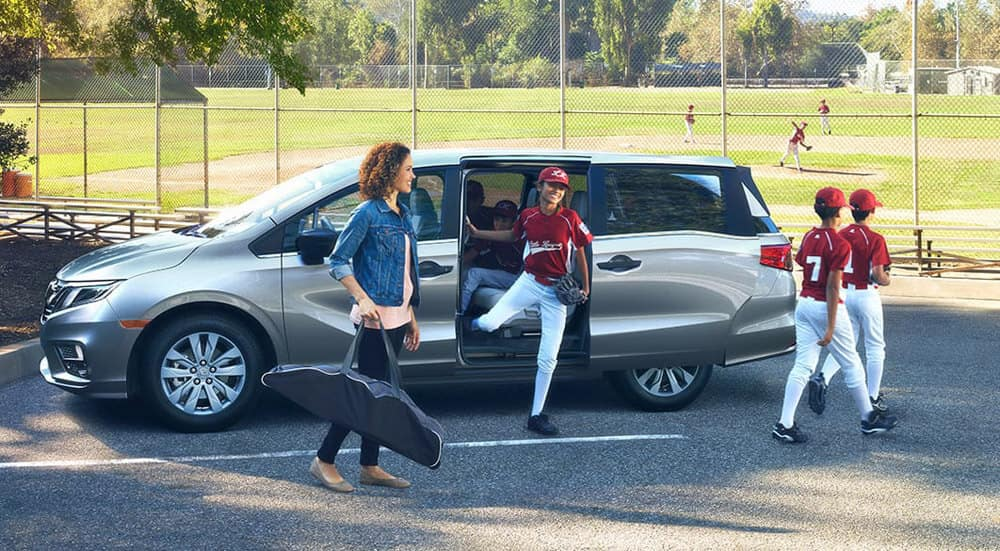 2018 Honda Odyssey At Little League
