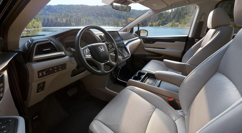 2018 Honda Odyssey Cabin