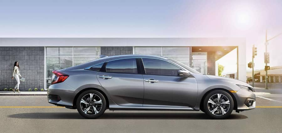 2018 Honda Civic Sedan exterior design