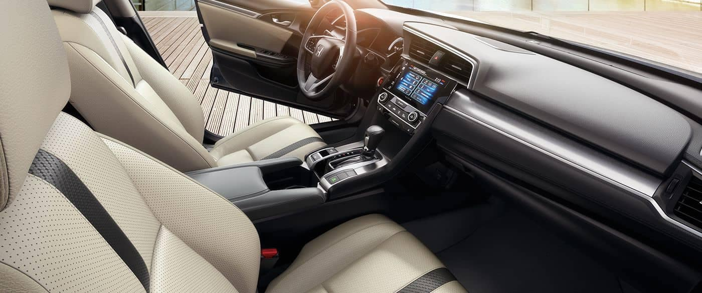 2018 Honda Civic EX Touring Interior