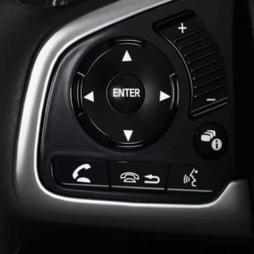Steering wheel controls 2018 Civic Sedan