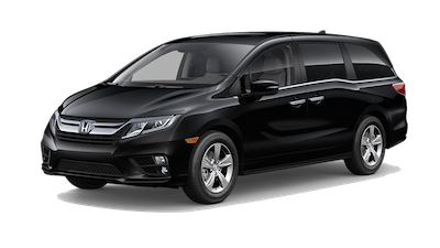 2019 Honda Odyssey EX-L on a transparent background
