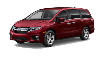 2019 Honda Odyssey EX on a transparent background