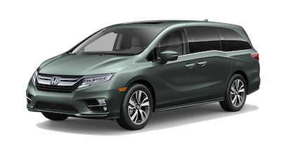2019 Honda Odyssey Elite on a transparent background
