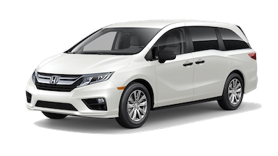 2019 Honda Odyssey LX on a transparent background