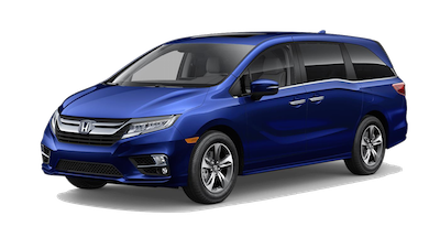 2019 Honda Odyssey Touring on a transparent background