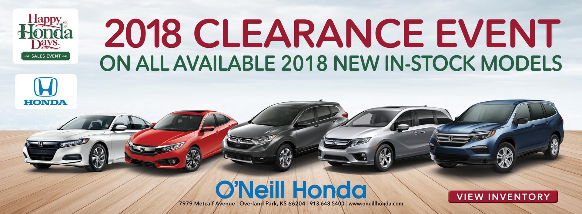 Oneill Honda New Dealership Kansas City Overland Park Motor Blower All Recall Info Accepting Orders For