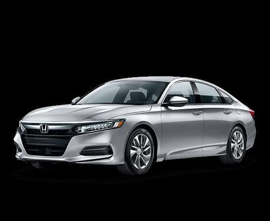 A silver 2019 Honda Accord LX