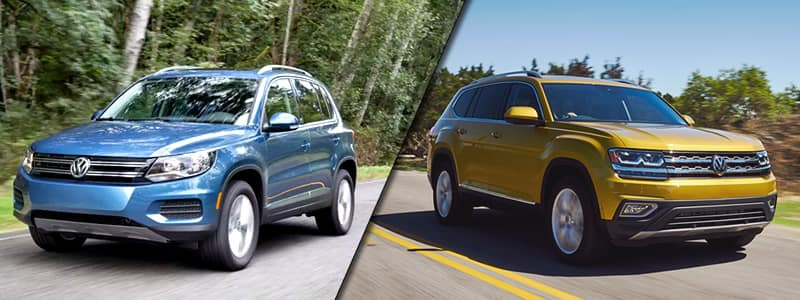 2018 VW Tiguan vs. 2018 VW Atlas