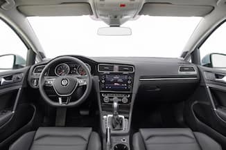 2018 Volkswagen Golf dashboard