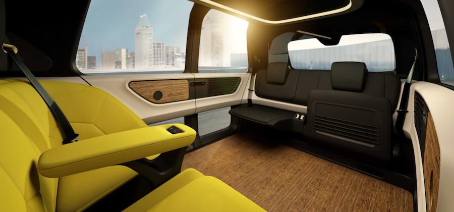 Volkswagen Sedric interior