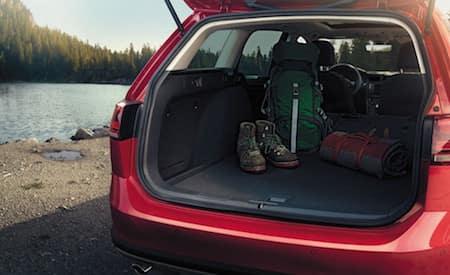 2018 Volkswagen Golf Alltrack cargo capability