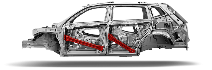 2018 VW Tiguan frame