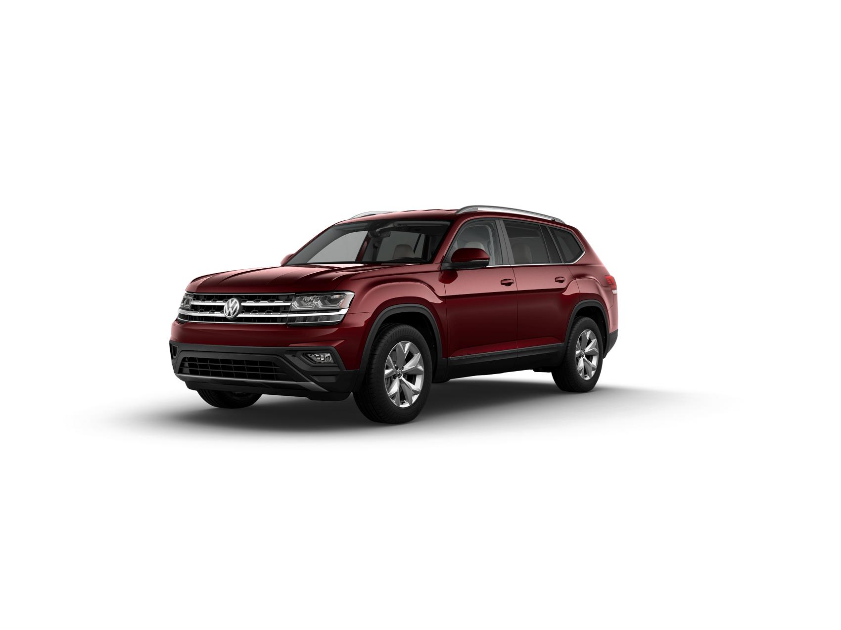 2019 VW Atlas Fortana Red Metallic