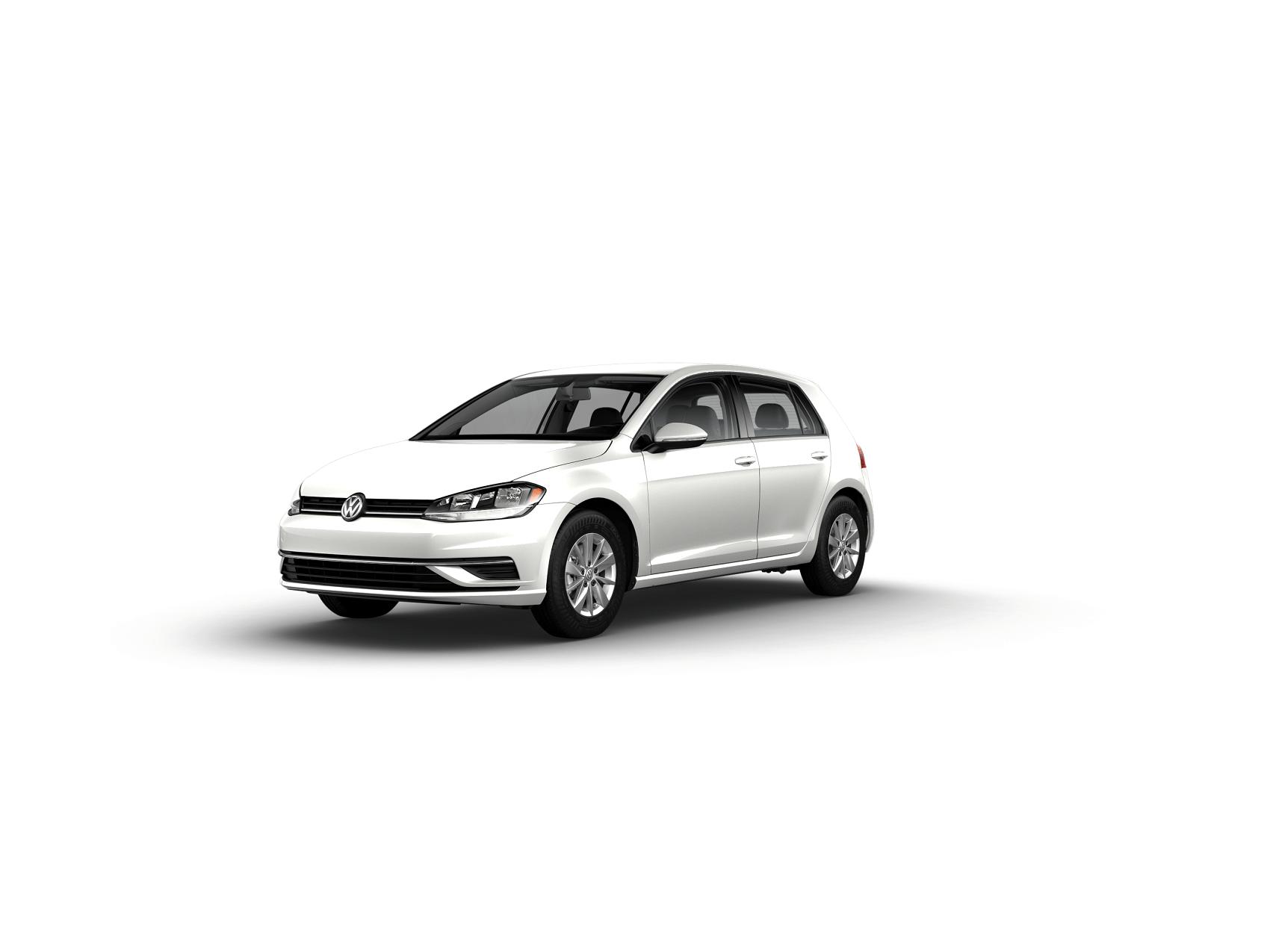 2019 VW Golf S Pure White