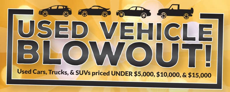 Pahrump Used Car Specials
