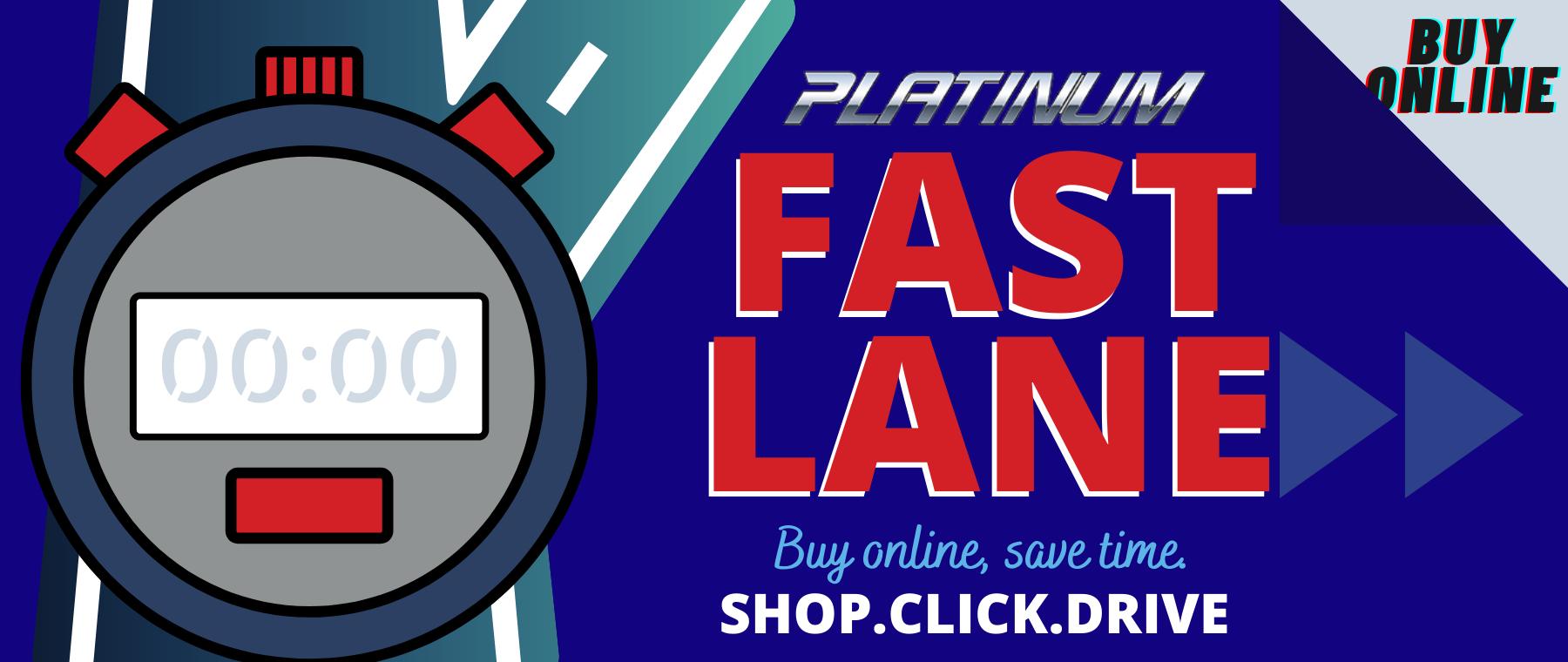fast lane schedule service banner