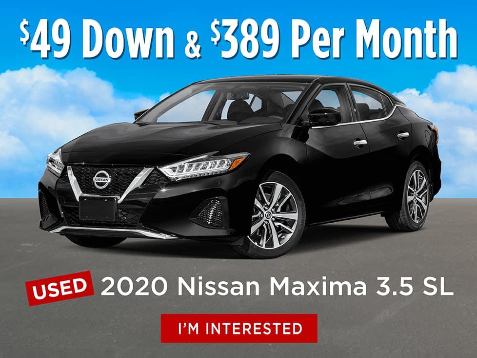 Nissan Maxima :$389
