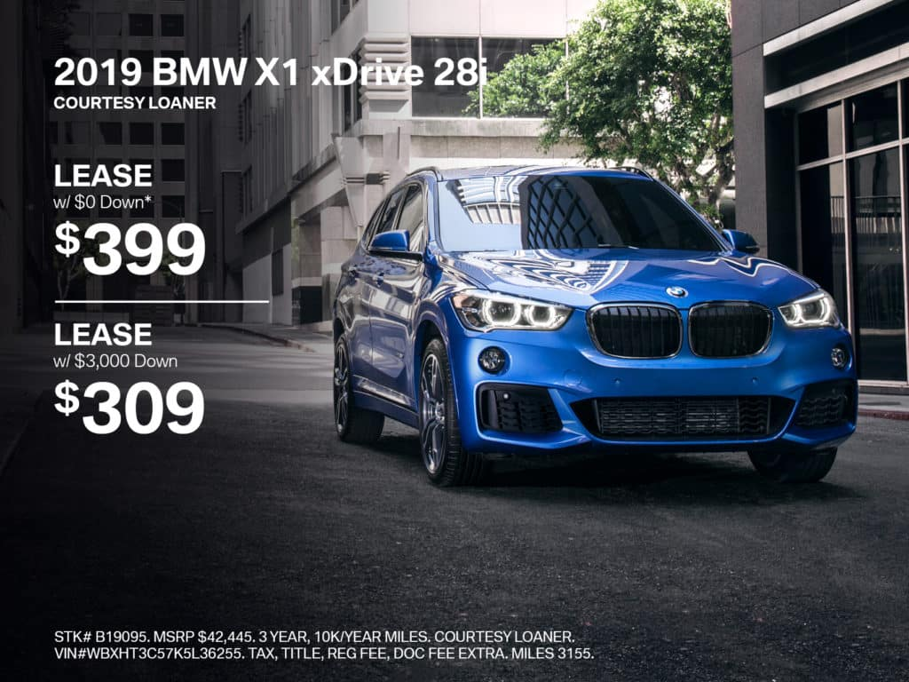 Certified Pre-Owned 2019 BMW X1 xDrive28i AWD