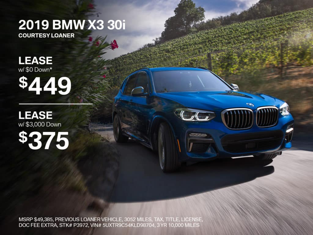 Pre-Owned 2019 BMW X3 xDrive30i AWD