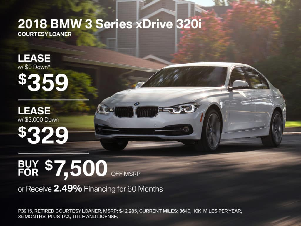 Certified Pre-Owned 2018 BMW 3 Series 320i xDrive AWD
