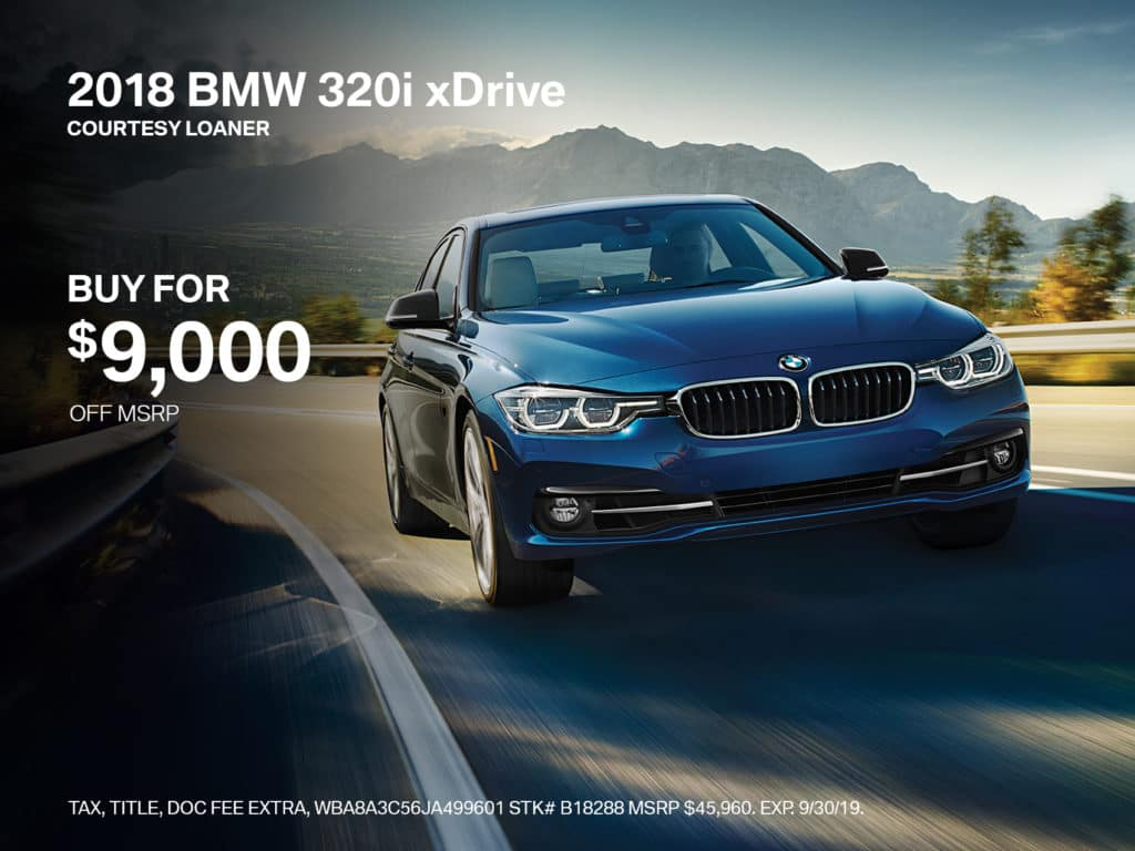 2018 BMW 3 Series 320i xDrive AWD