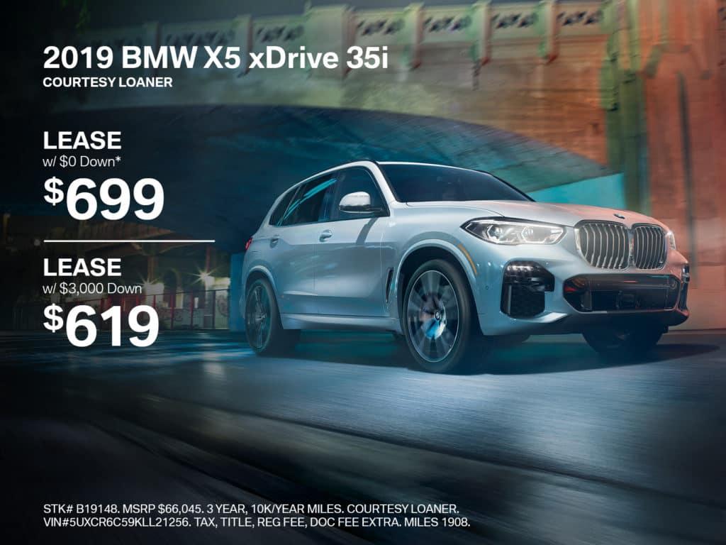 New 2019 BMW X5 xDrive40i With Navigation & AWD