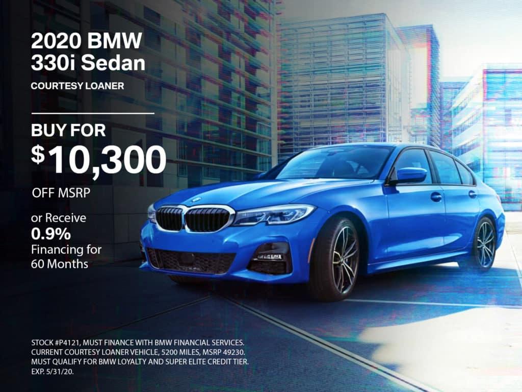 Courtesy Loaner 2020 BMW 3 Series 330i xDrive AWD