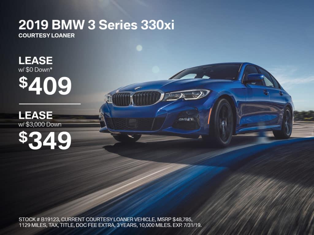 Pre-Owned 2019 BMW 3 Series 330i xDrive AWD
