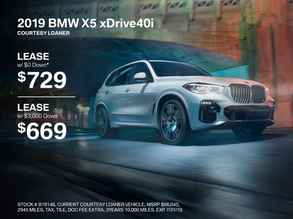 Pre-Owned 2019 BMW X5 xDrive40i AWD