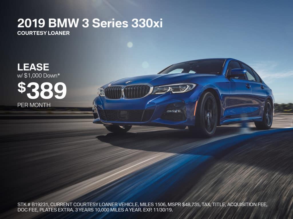 New 2019 BMW 3 Series 330i xDrive AWD