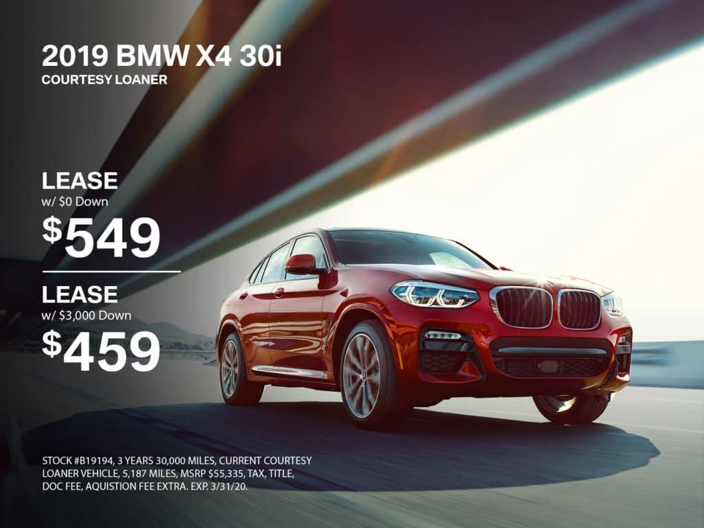 2019 BMW X4 AWD