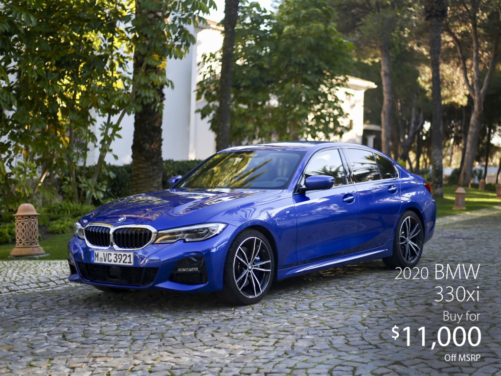 Pre-Owned 2020 BMW 330i