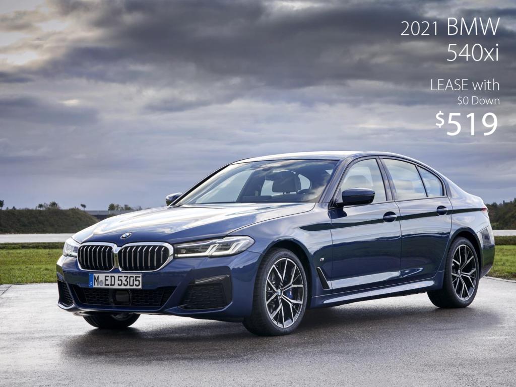 Courtesy Loaner 2021 BMW 540xi