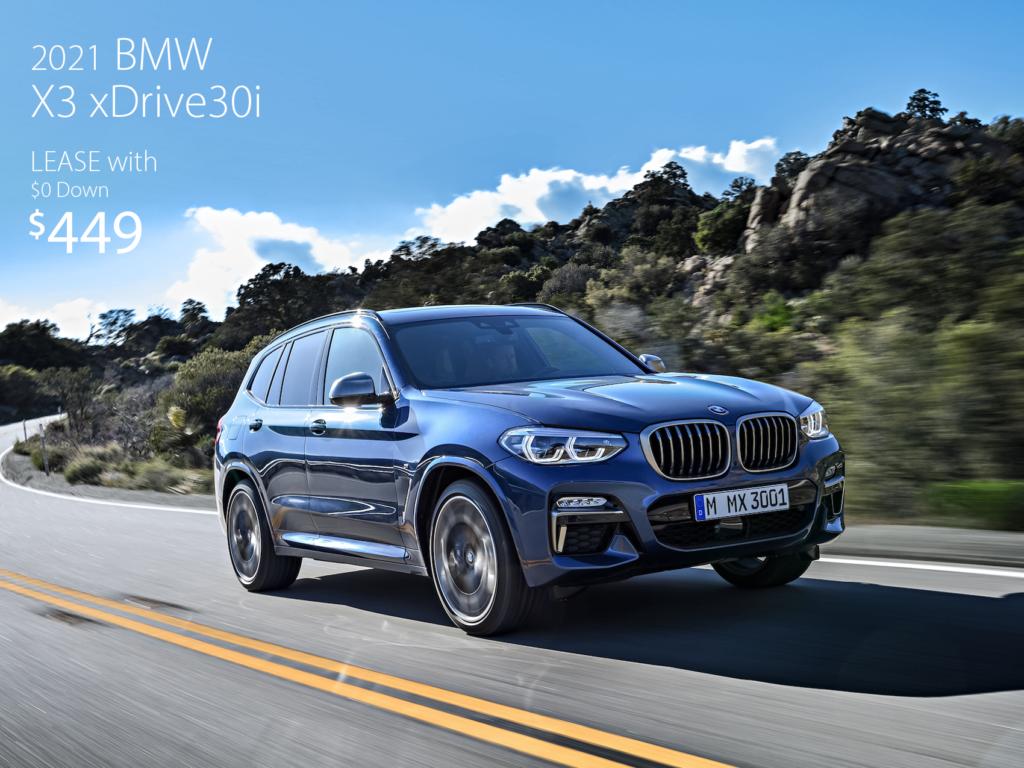 Courtesy Loaner 2021 BMW X3