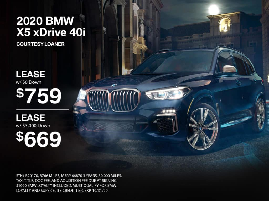 Pre-Owned 2020 BMW X5 AWD