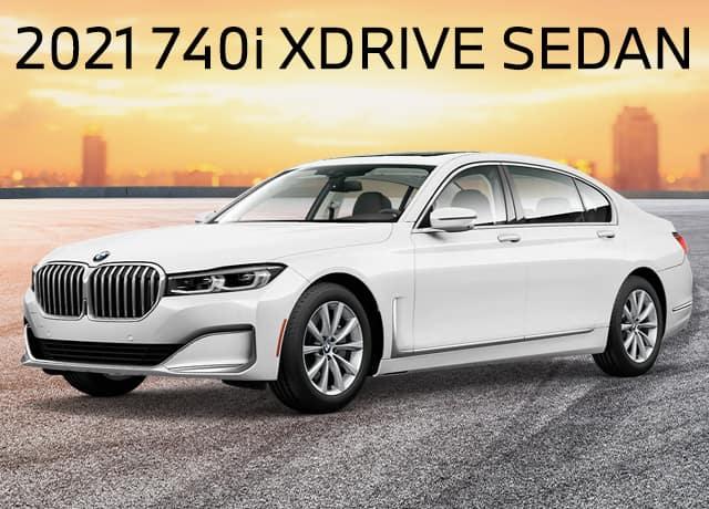 New 2021 BMW 740i xDrive