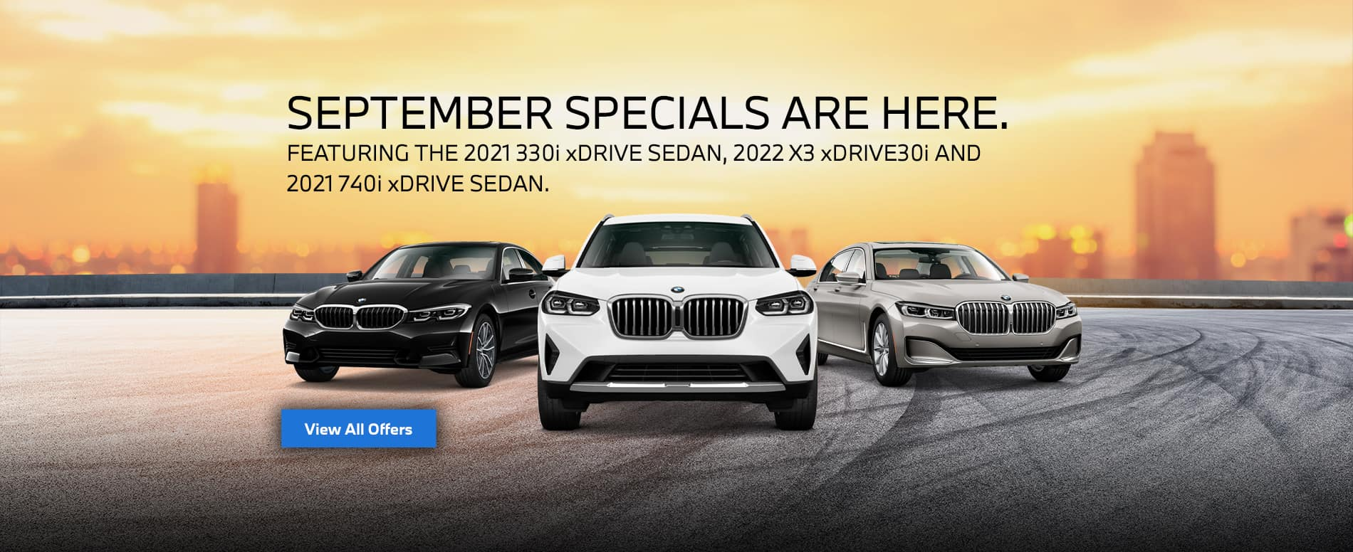 BMW September specials are here!