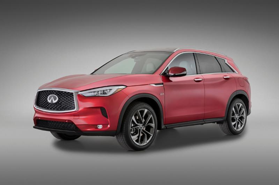 The new 2019 infiniti qx50 coming soon ray catena auto group for Mercedes benz larchmont service