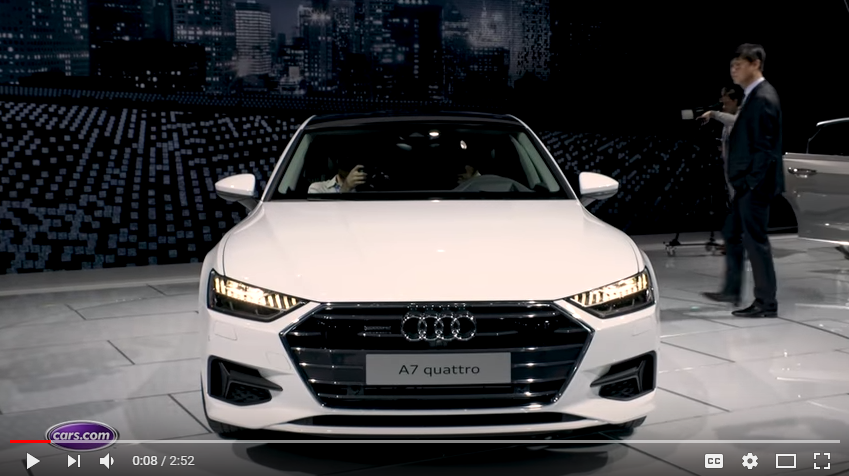 CARSCOM REVIEWS THE NEW AUDI A AT THE DETRIOT AUTO SHOW Ray - Ray catena audi