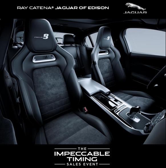 The 2019 Jaguar Xe Sv Project 8 Ray Catena Jaguar Of Edison