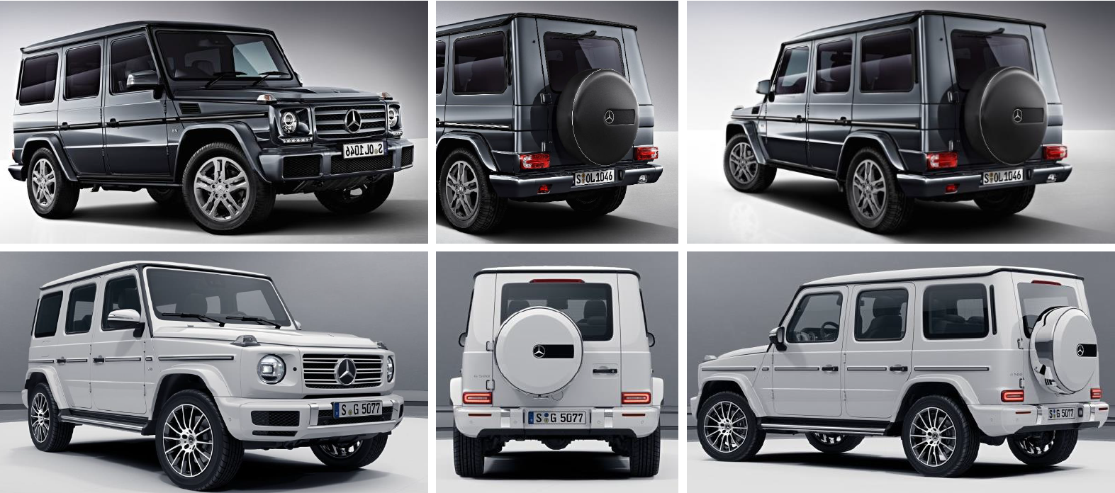 The 2018 Mercedes Benz G550 Vs The 2019 Mercedes Benz