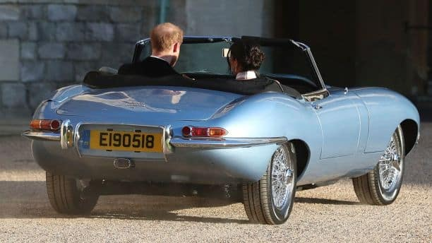 e-type concept zero at the royal wedding | ray catena jaguar of edison