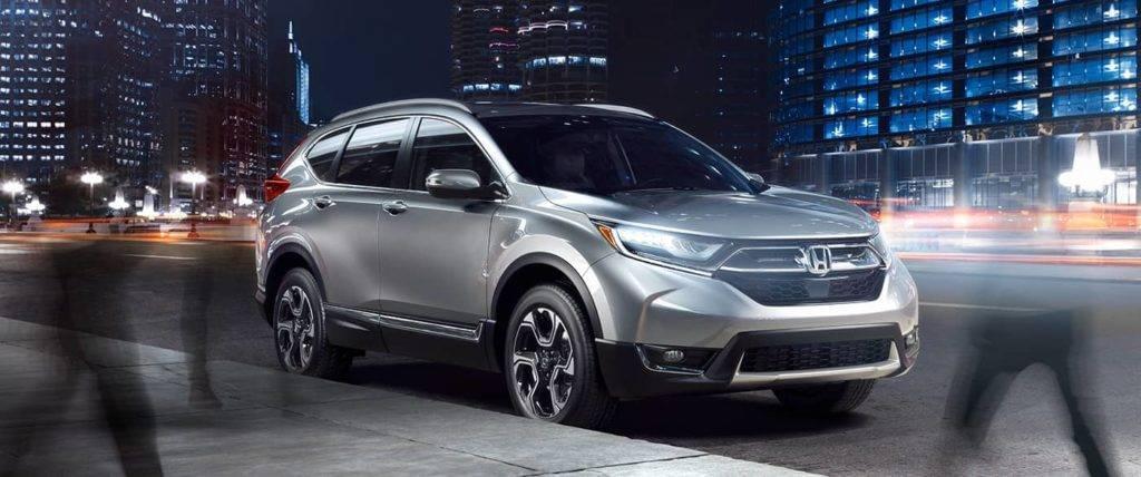2017 Honda CR-V Gray Front Exterior
