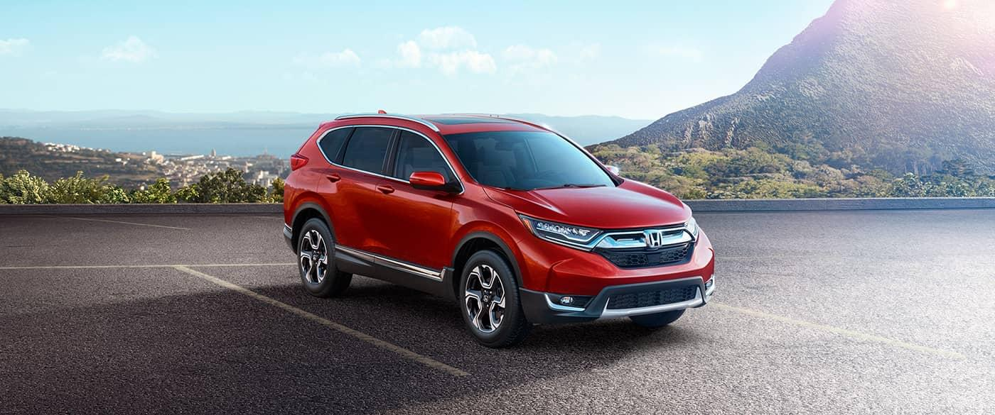 2017 Honda CR-V Red Front Exterior